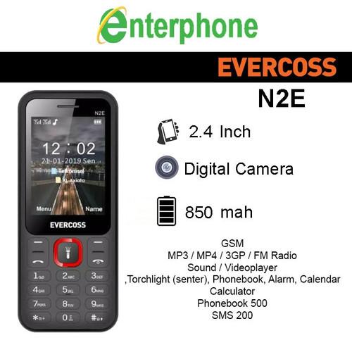 Foto Produk Evercoss N2E Wireless Radio FM Candybar Garansi Resmi - Hitam dari enterphone2