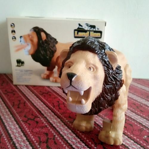 Foto Produk Mainan Singa Land Lion , Robot Binatang Singa Animal World dari StoryOfToys