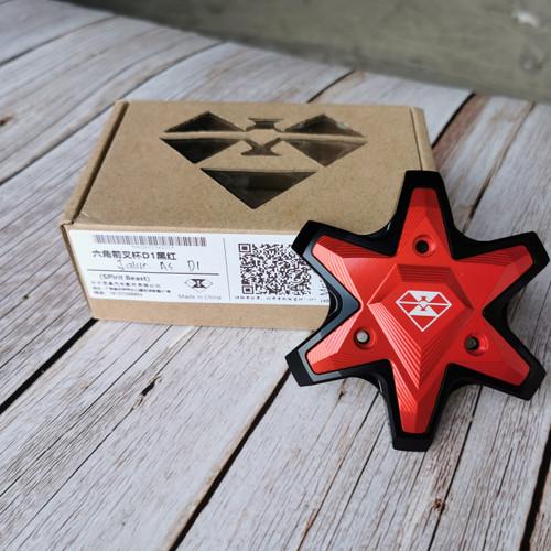 Foto Produk Spirit Beast Jalu As Roda Depan Bintang - D1 - Merah dari Spirit beast Sepedamotor
