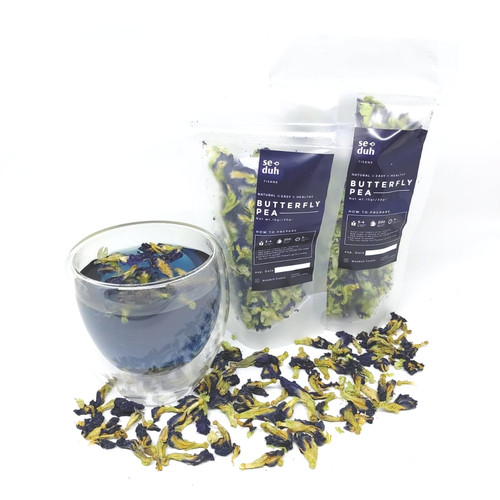 Foto Produk SEDUH - Bunga Telang Kering Teh Butterfly Pea Blupea Tisane 10 Gram dari Seduh Tisane