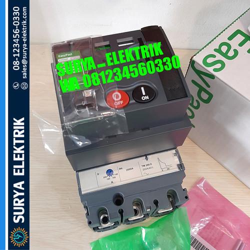 Foto Produk SCHNEIDER MCCB CVS250N 3P 200A 200 A TM200D LV525452 50KA 3Pole Motor dari SURYA-ELEKTRIK