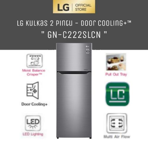 Foto Produk LG GN-C222SLCN [Kulkas 2 Pintu Inverter 209 Liter - Door Cooling+™] dari LG Official Store