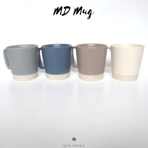 Foto Produk Mug Madison Gelas Keramik Two Tone dari Qeramiku