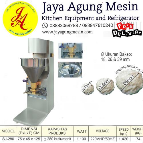 Foto Produk Mesin Cetak Bakso / Meat Ball Foaming(SJ-280) Getra free ongkir dari Jaya Agung II