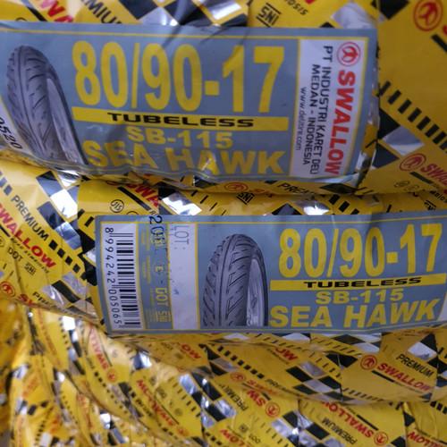 Foto Produk Ban Swallow Tubless 80/90-17 dari lotus motor serpong