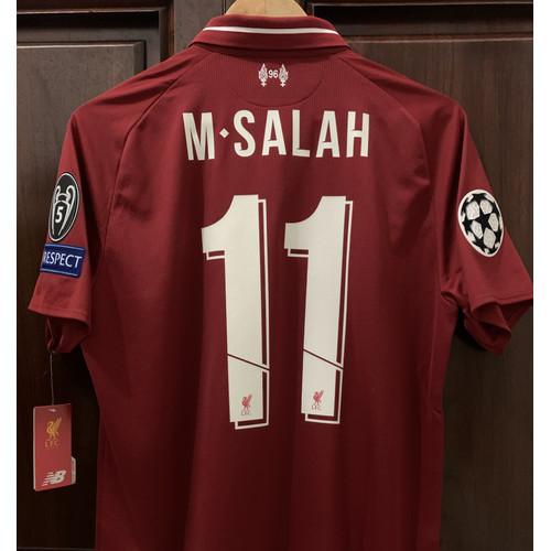 Foto Produk Jersey Liverpool Home 2018/19 Final Champion Madrid M.Salah #11 dari Clothing Heaven