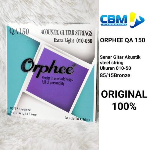 Foto Produk SENAR GITAR AKUSTIK STRING ORPHEE 010 85/15BRONZE ORPHEE QA150 ORI dari CBM Music & Sound Store