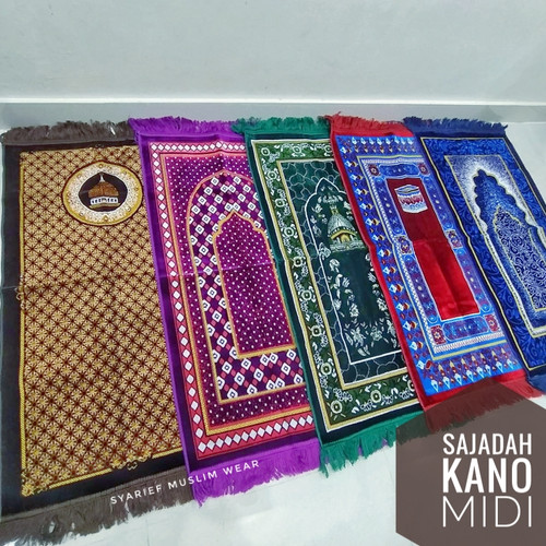 Foto Produk Sajadah Turki Halus - Kano (ukuran standart) dari Syarief Muslim Wear