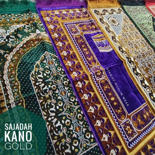 Foto Produk Sajadah Turki High Quality - Kano Gold (100% Asli) dari Syarief Muslim Wear