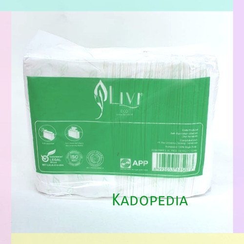 Foto Produk Tissue LIVI ECO Facial Refill 600s dari kadopedia