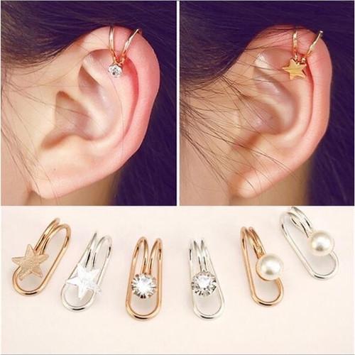 Foto Produk Ear clip simple one | anting jepit | aksesoris import murah dari Sunset Acc Collection