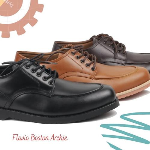 Foto Produk sepatu pantofel kulit pria model Archie sepatu kerja sepatu formal dari faiz footwear