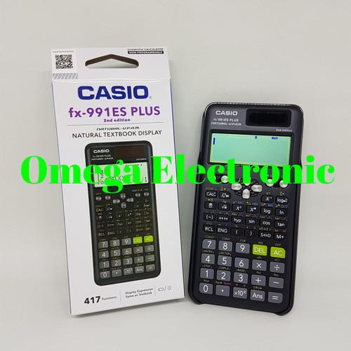 Foto Produk Casio FX 991 ES PLUS - Scientific Kalkulator dari Omega Electronic