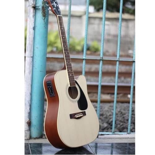 Foto Produk Gitar akustik elektrik YAMAHA F310 NATURAL EQUALIZER ON dari Blaze Music