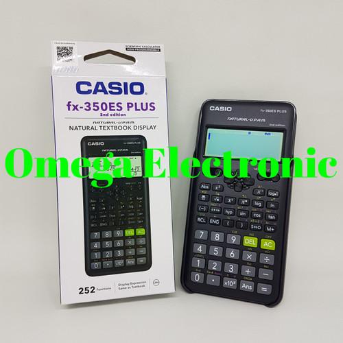 Foto Produk Casio FX-350ES PLUS Scientific Calculator Kalkulator Sekolah Kuliah dari Omega Electronic
