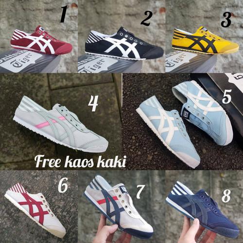 Foto Produk Sneakers Onit Slip On Parasti size 36 - 40 sepatu wanita casual cream dari eno ajjh