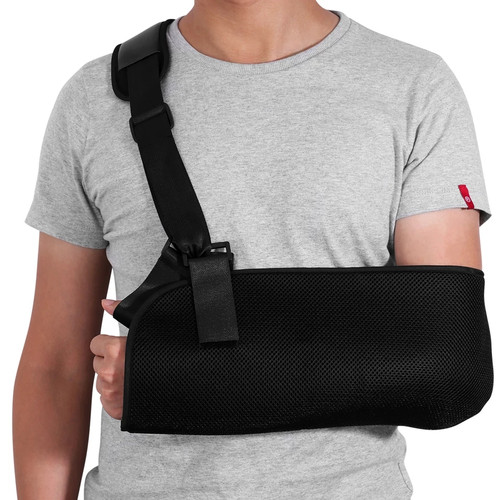 Foto Produk Arm Sling Adjustable Shoulder Immobilizer Wrist Elbow Support Brace dari Doctor Orthopaedi Brace
