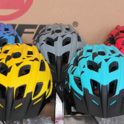 Foto Produk Helm Sepeda Pacific SP-J106 - Blue dari Travelholic Store