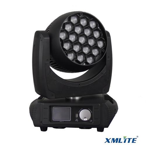 Foto Produk LED Moving Wash Beam 19x15W RGBW XMLITE include flightcase 2in1 dari DUNIA LAMPU LIGHTING