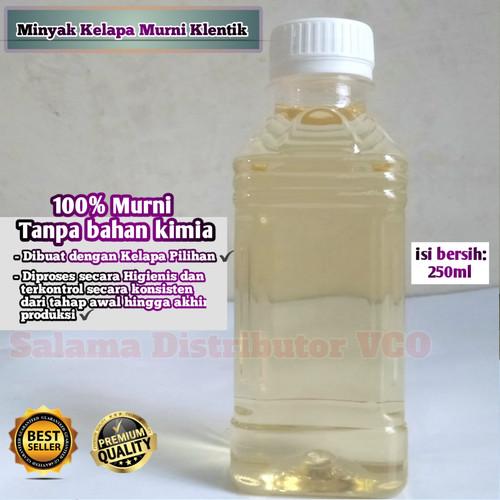 Foto Produk Minyak Kelapa Asli 250ml Murni 100% / Klentik / Keletik / Kelentik - 250ml dari salama vco