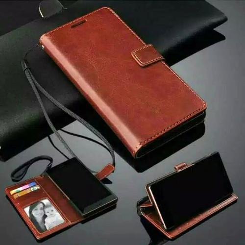 Foto Produk Flip Walet Realme C1 Sarung Kulit Leather Case Book Cover Standing dari Indo Smart Acc