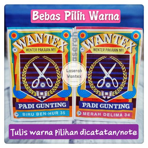 Foto Produk Wantex Pewarna Kain Padi Gunting dari Laserah_Wantex