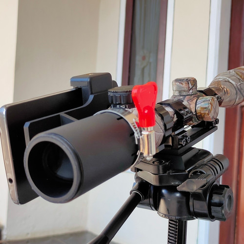Foto Produk mounting kamera samping, angle sight scope, monting teleskop hunting dari Nugraha Series