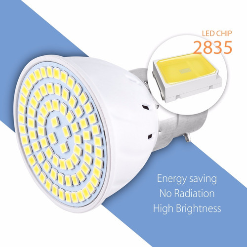 Foto Produk Lampu Bohlam LED Spotlight Bulb 80 LEDs 9W 220V E27 dari aksesoris-iPhone