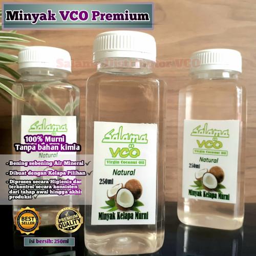 Foto Produk vco virgin coconut oil 250ml Minyak Kelapa Murni dari salama vco
