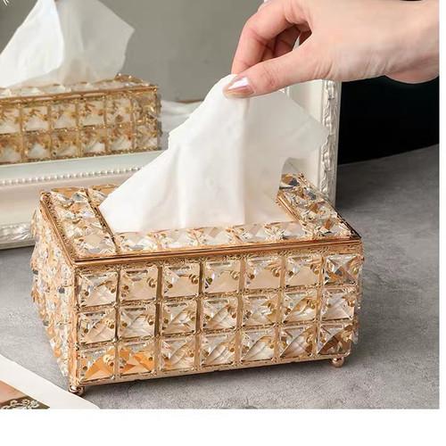 Foto Produk European crystal tissue box dari woo.jia