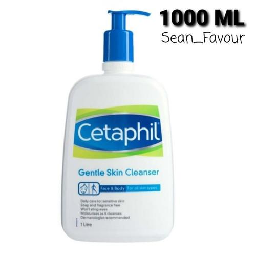 Foto Produk Cetaphil gentle skin cleanser 1000ml / Cetaphil gentle 1L dari sean_favour