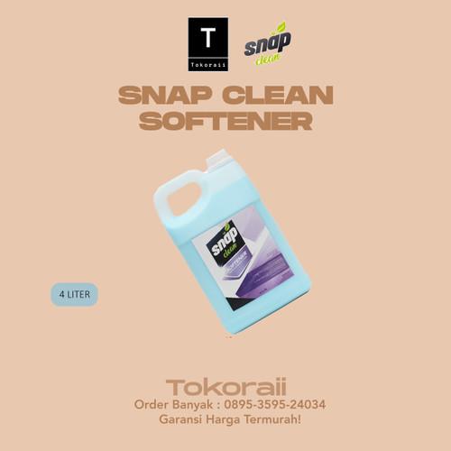 Foto Produk Softener Snap Clean 4 Liter Pelembut Pewangi Pakaian Sejenis Molto dari tokoraii
