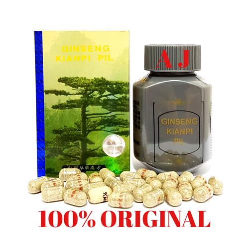 Foto Produk Ginseng Kianpi Pil (Gold Hologram) - Obat Nafsu Makan dari Asli jaya