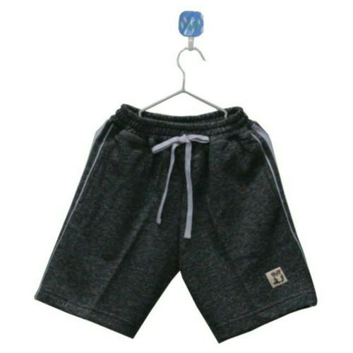 Foto Produk Celana Pendek Anak Laki Laki Heather Black Two Tone. - 8 dari Little Cas