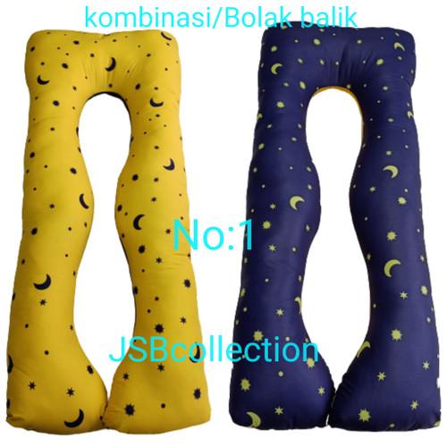 Foto Produk Bantal ibu hamil jumbo 150x75 jadetabek bisa pakai gosend.. dari jsb collection