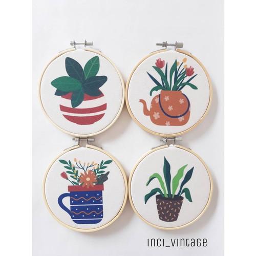 Foto Produk Dekorasi Dinding Indoor Plants House Plants Tanaman Hias - Putih dari inci_vintage