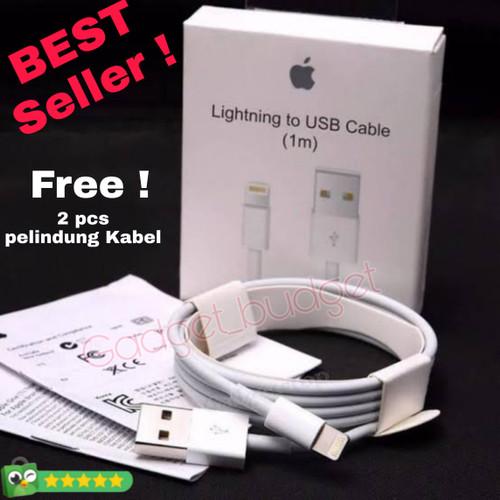 Foto Produk Kabel Data Iphone Original Ori Cable Data Ip 6 6plus 7 7plus 8 8plus dari gadget_budget