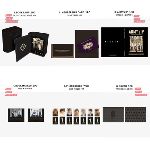 Foto Produk BTS Army Global Membership 6th Edition 2020 - Membership Kit dari The Pink Souffle