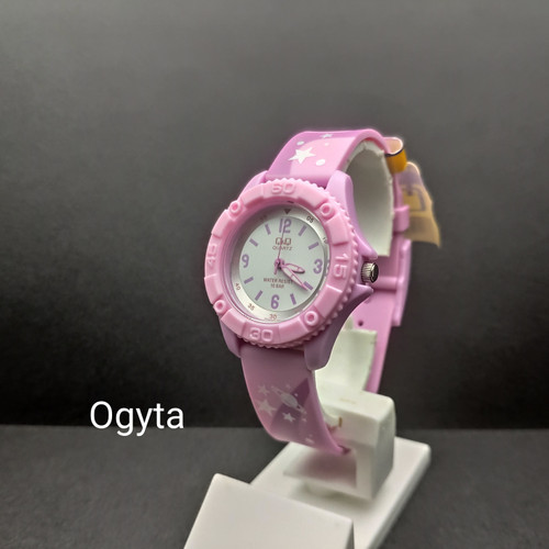 Foto Produk Q&Q QQ Jam Tangan Wanita Karet VQ96J020Y Original dari Ogyta Shop