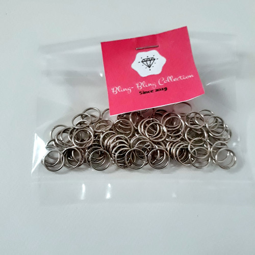 Foto Produk Jump ring O bahan aksesoris pengait gelang 150pcs dari blingbling collection