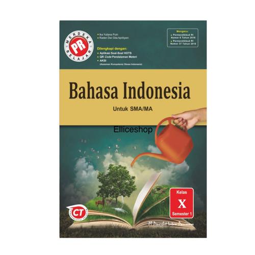 Foto Produk Buku PR/ LKS Bahasa Indonesia kelas 10, tahun 2020 dari Ellice Shop