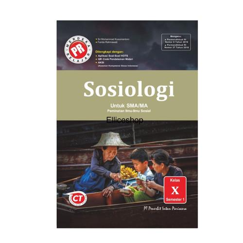 Foto Produk Buku PR/ LKS Sosiologi kelas 10 tahun 2020 dari Ellice Shop