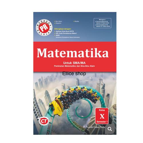Foto Produk Buku PR/ LKS Matematika Peminatan kelas 10 tahun 2020 dari Ellice Shop
