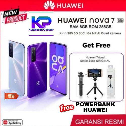 Foto Produk Huawei Nova 7 8/256 8GB 256GB Garansi Resmi - Silver Bonus dari Kumparan Cellular