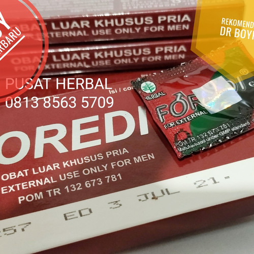 Foto Produk Foredi Tangerang Eceran 1 Sachet Original Harga Agen Resmi PASTI ASLI dari Pusat-Herbal