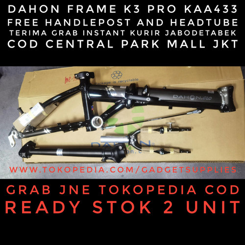 Foto Produk Dahon Frame K3 Pro BUKAN FNHON Gust Troy Blast Element Pines 3sixty dari JUALGADGETS