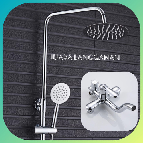 Foto Produk Shower Column. Shower Tiang . Shower set . Kran Shower. panas dingin dari Juara Langganan