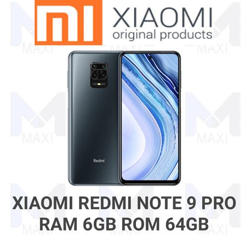 Foto Produk Xiaomi Redmi Note 9 Pro 6/64 Ram 6gb Rom 64gb Garansi Resmi - Abu-abu dari Maxi phone cell