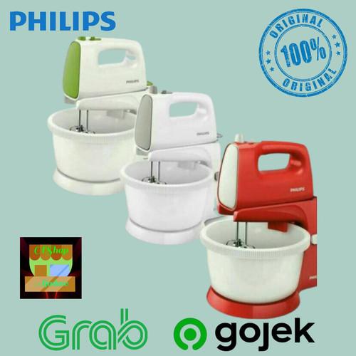 Foto Produk Philips mixer with stand hr1559 GARANSI RESMI HR 1559 - Hijau dari ajadaw