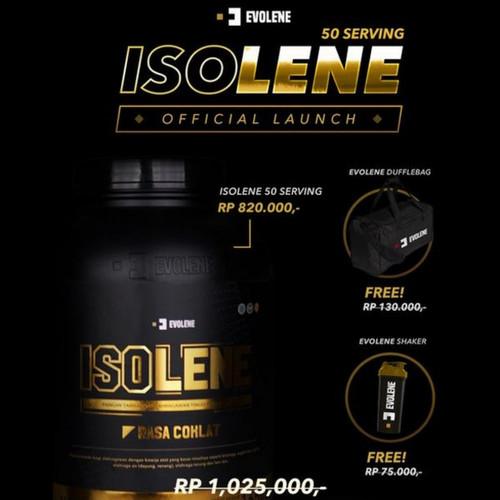 Foto Produk EVOLENE ISOLENE 50SERVING /ISOLENE WHEY ISOLATE 50 SERVING BPOM& HALAL dari original.suplemen
